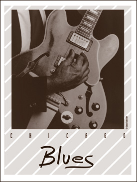 Chicago Blues poster